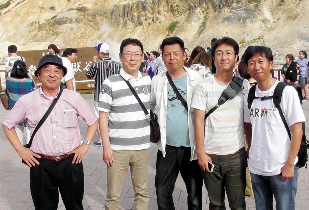 社員旅行 北海道1 (①30.7.16 ②7.22)