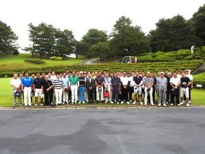45周年記念親善ゴルフコンペ(30.9.14)